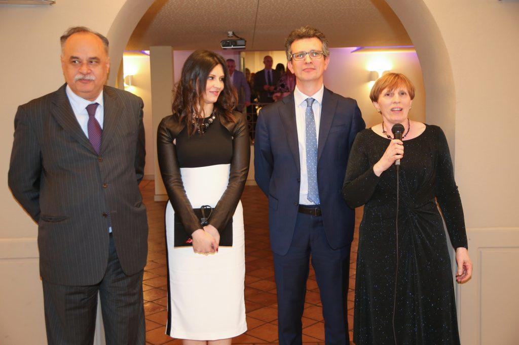 galliate lombardo serata cena di beneficienza fondazione Felicita Morandi alla villa Calmia :